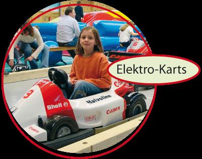 Indoorspielplatz in Oer-Erkenschwick - Flipp Flopp Kinderwelt - Elektor - Karts
