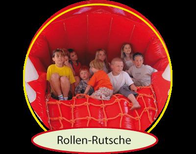 Indoorspielplatz in Oer-Erkenschwick - Flipp Flopp Kinderwelt - Rolle - Rutsche